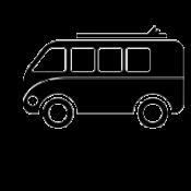 4x4 ir mikroautobusams